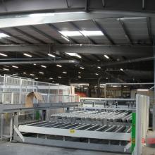 CNC toevoer panelen