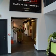 wandkasten en inloopkasten Armaro showroom